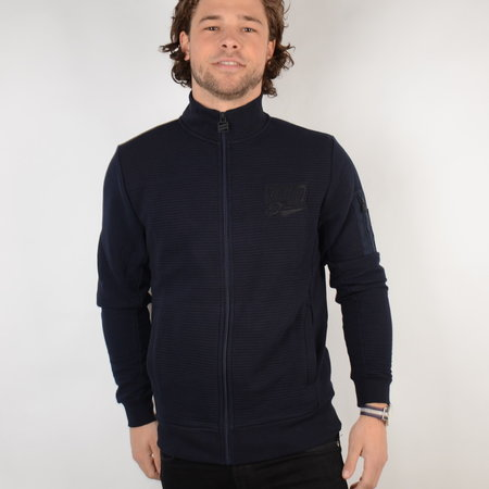 Petrol Sweater Collar Dark Navy (SWC320)