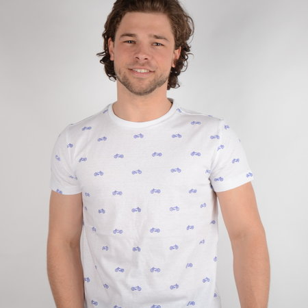 Petrol T-shirt SS R-Neck Bright White (TSR668)