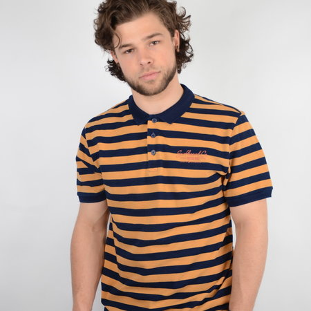 Only & Sons Onseven Polo Indigo NF 6622 Tangerine