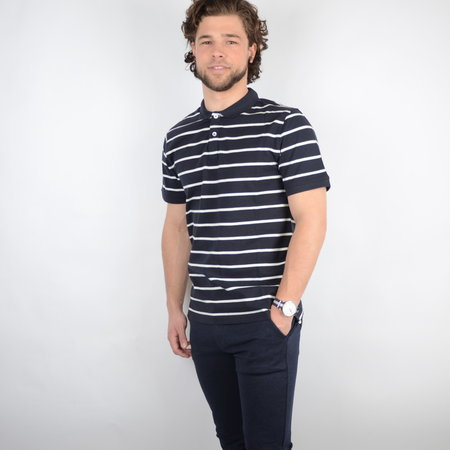Only & Sons Onscooper Life Reg SS Polo Noos Dark Navy
