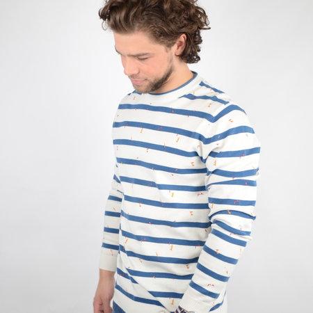 Only & Sons Onsgarson 12 Striped Print Dark Blue