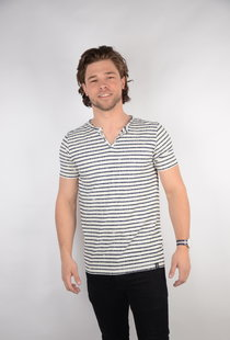 T-shirt SS V-Neck Chalk White (TSV638)