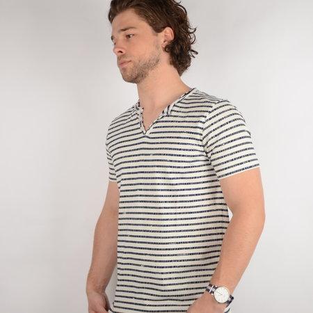 Petrol T-shirt SS V-Neck Chalk White (TSV638)