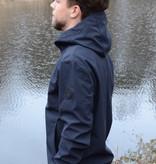 Airforce Softshell Jacket Chestpocket Summer Softshell Dark Navy Blue