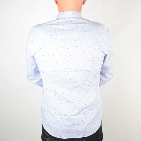 Only & Sons Stretch Shirt Cashmere Blue 22016635