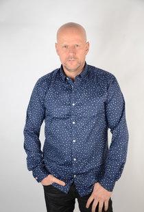 Stretch Shirt Dress Blues 22016635
