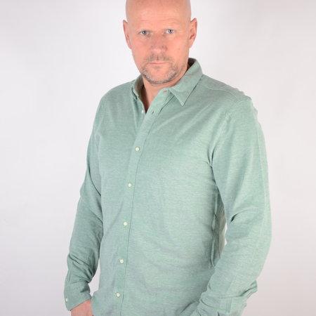 Only & Sons Knitted Melange Shirt Medium Green 22009904