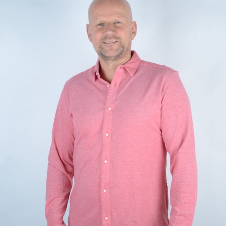 Only & Sons Knitted Melange Shirt Pompeian Red 22009904