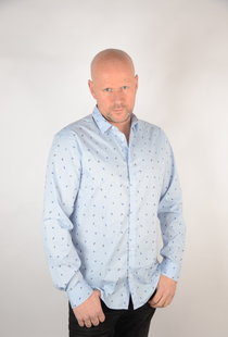 Poplin Shirt Cashmere Blue 22015474