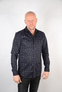 Poplin Shirt Dark Navy 22015474