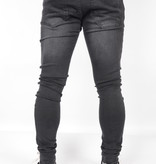 Gabbiano Ultimo Jeans Black Destroyed