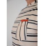 Gabbiano T-shirt Round NeckEcru 15215
