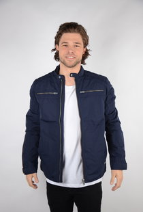 Jacket Biker Dark Navy (JAC101)