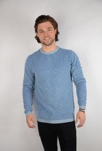 Knitwear R-Neck Parrot Blue (KWR206)