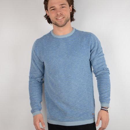 Petrol Knitwear R-Neck Parrot Blue (KWR206)