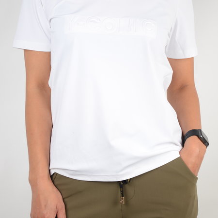 Y-conic Tee-V Low Regular White