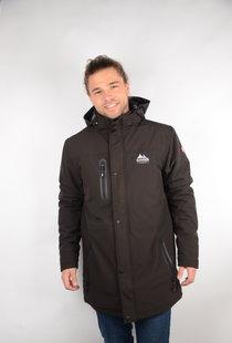 Mens Padded Softshell Jacket Andre Black