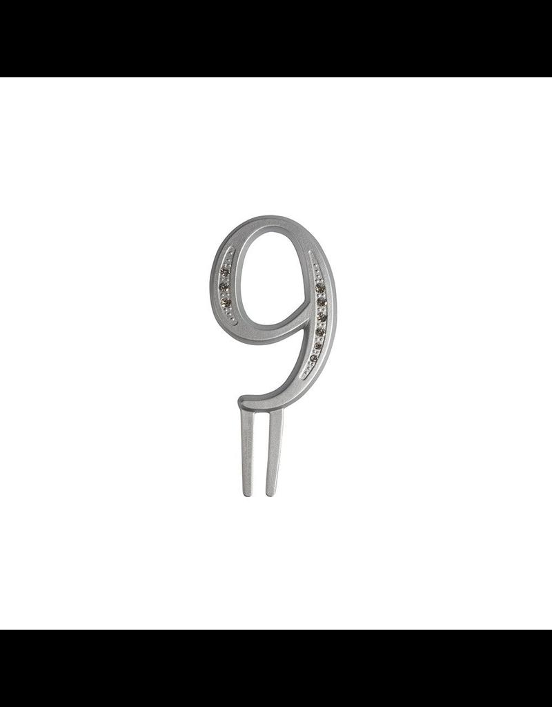 "2. Sweet Store Taarttopper luxe cijfer ""9"""