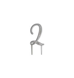 "2. Sweet Store Taarttopper luxe cijfer ""2"""