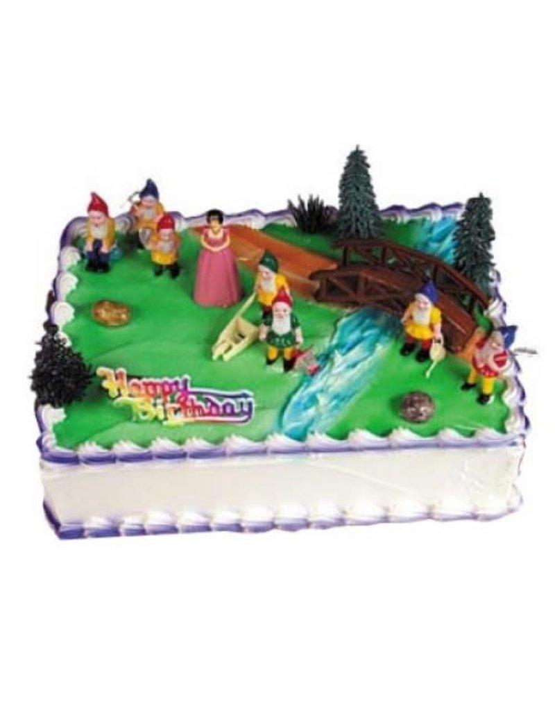 2. Sweet Store Taarttopper - Sneeuwwitje en de 7 dwergen