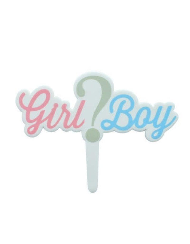 2. Sweet Store Girl or Boy taarttopper
