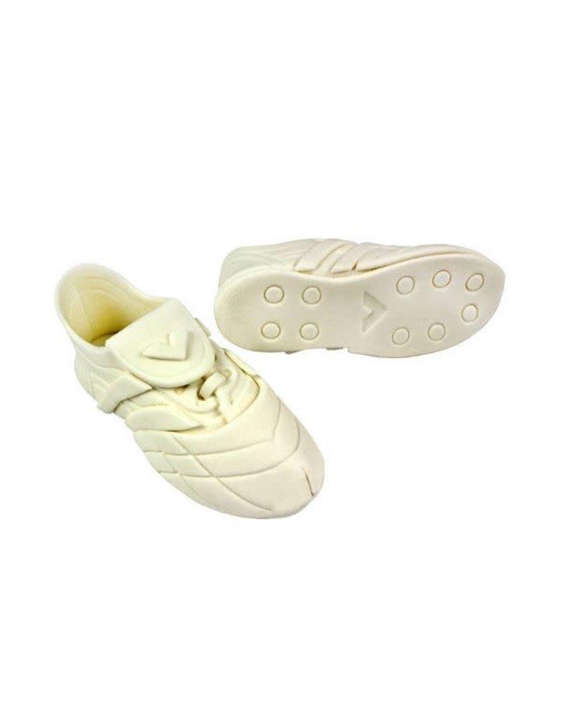 PME Suikerfiguur voetbalschoenen wit