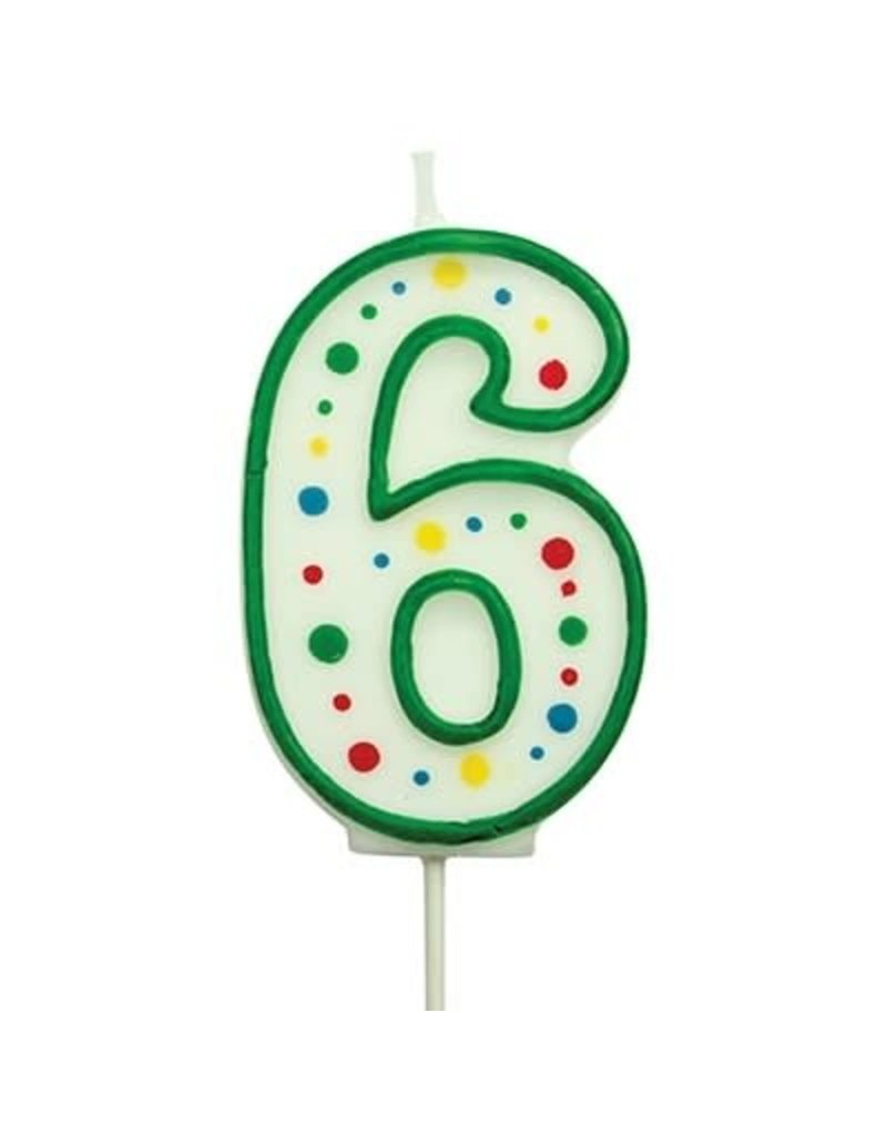 PME Cijferkaars #6 groen