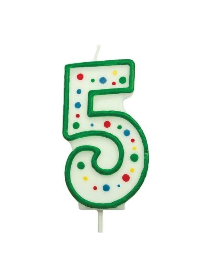 PME Cijferkaars #5 groen