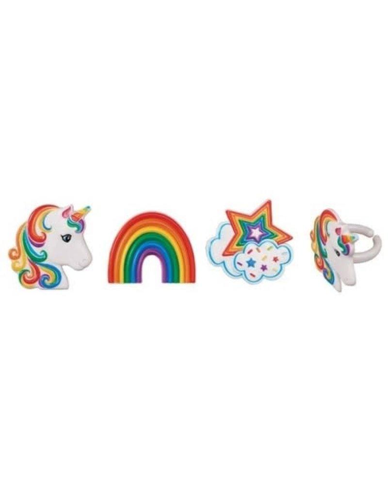 2. Sweet Store Ringen - unicorn 12st