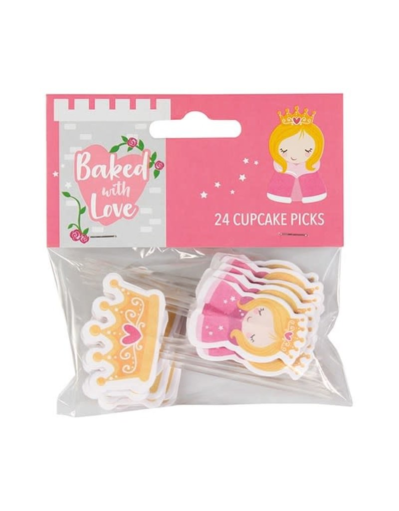 Baked with Love Prikkers - Prinsessen 24st