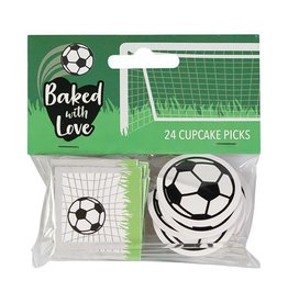 Baked with Love Prikkers - Voetbal 24st