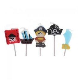 Culpitt Kaarsjes piraten 5st