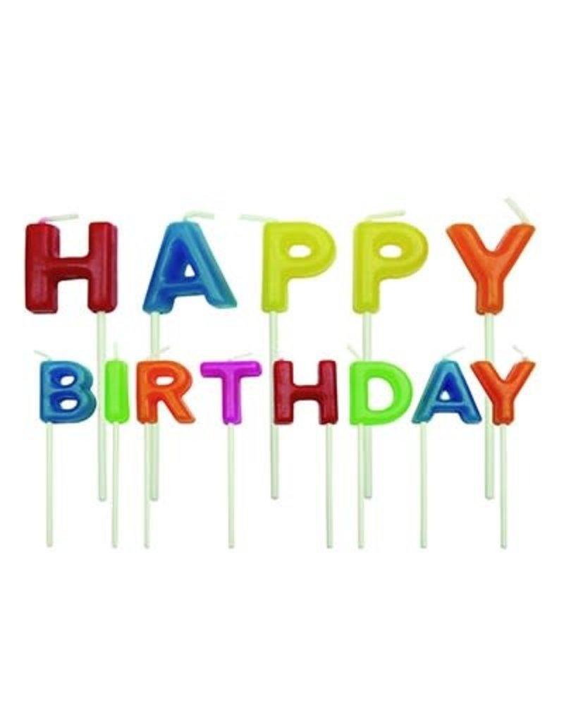 PME Taartkaarsjes Happy birthday set/13