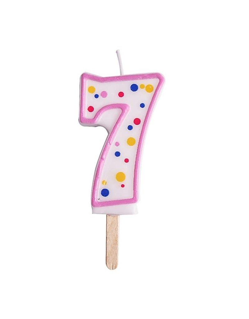 PME Cijferkaars #7 roze