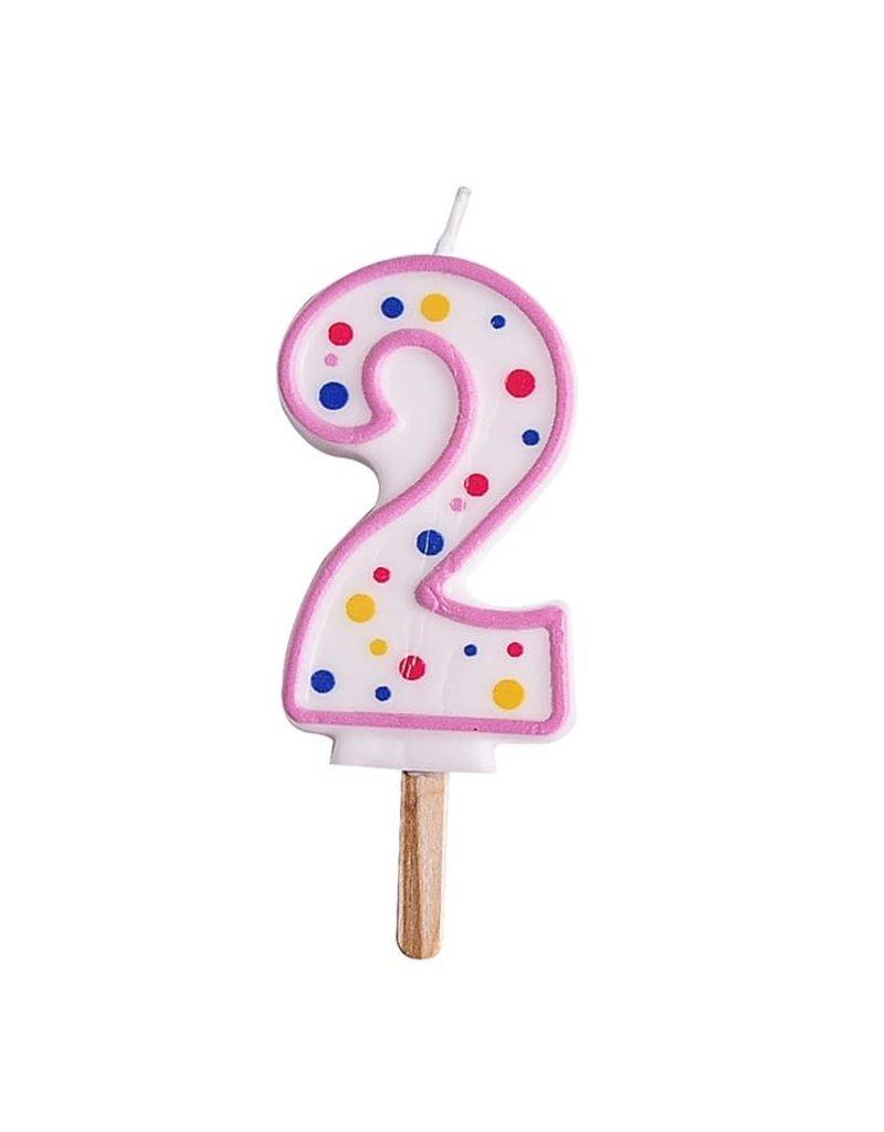 PME Cijferkaars #2 roze