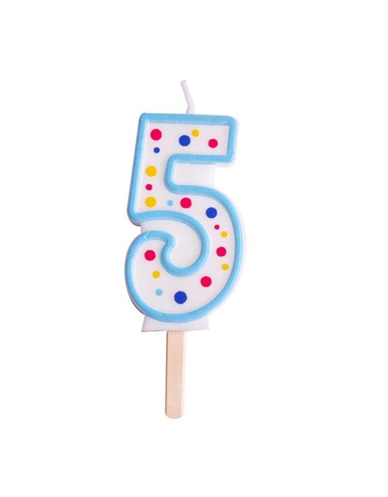 PME Cijferkaars #5 blauw