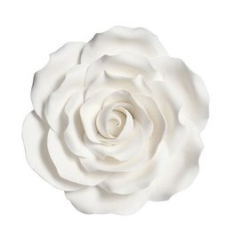 Culpitt Suikerbloem - Roos Wit 10cm