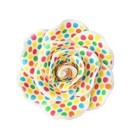 Culpitt Decoratie bloem - kleurrijk - 90mm