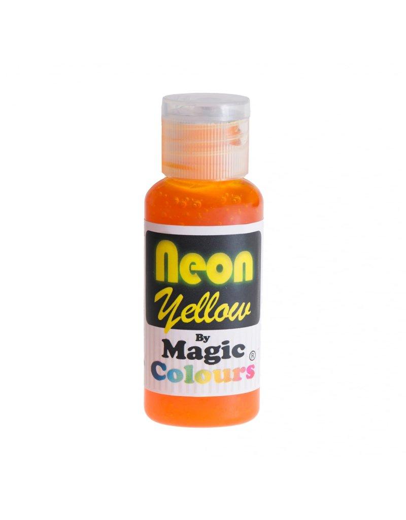 Magic Colours MC Kleurstof Gel NEON Geel 32gr.