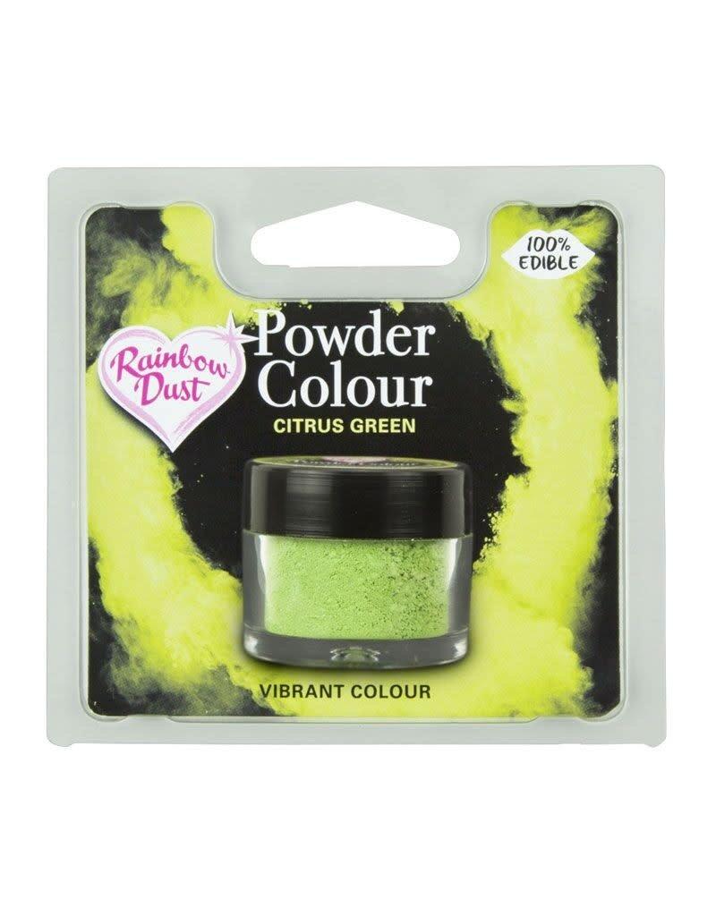 Rainbow Dust RD Powder Colour Citrus Green