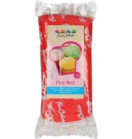 Funcakes Fondant 1kg fire red