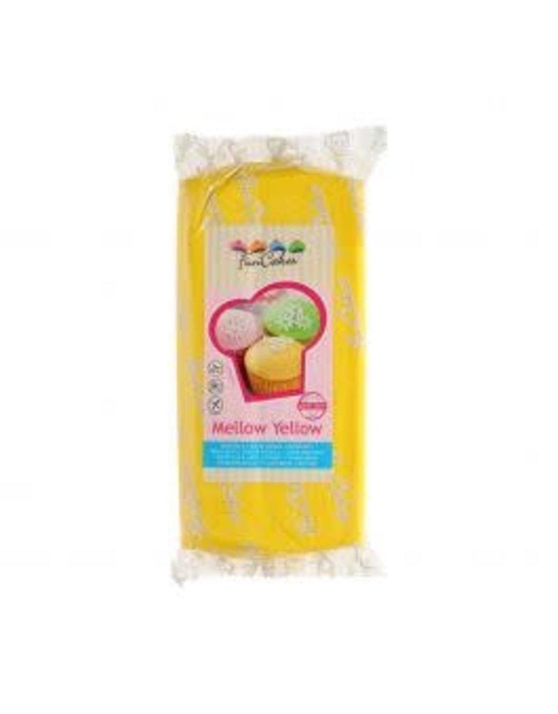 Funcakes Fondant 1kg mellow yellow