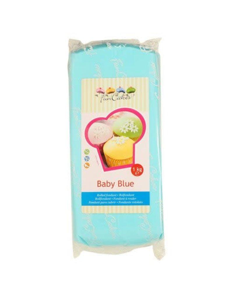 Funcakes Fondant 1kg baby blue