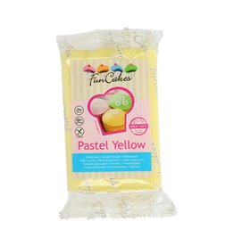 Funcakes Fondant 250g pastel yellow