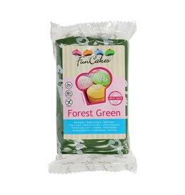 Funcakes Fondant 250g forest green