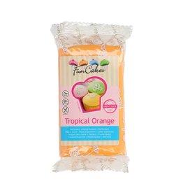 Funcakes Fondant 250g tropical orange