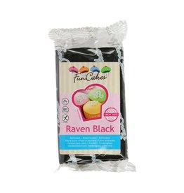 Funcakes Fondant 250g raven black