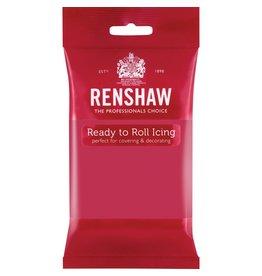 Renshaw Rolfondant 250g fuchia roze