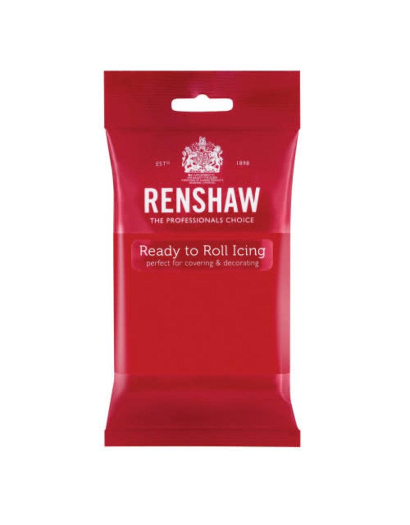 Renshaw Rolfondant 250g rood