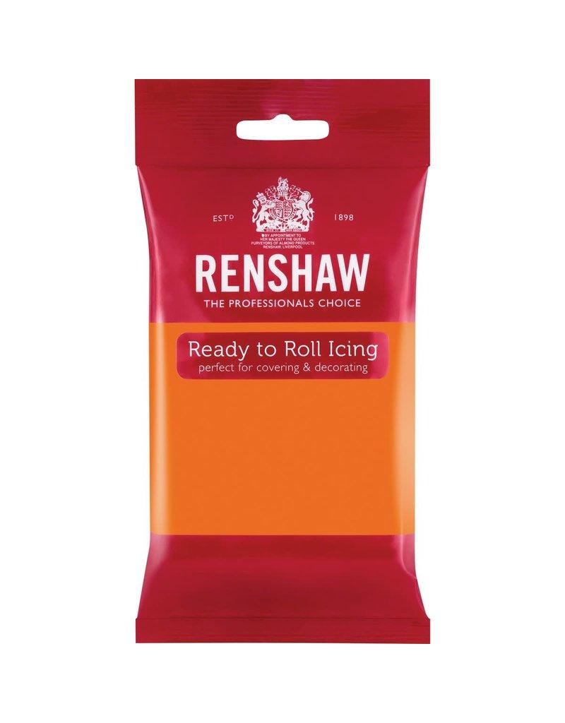 Renshaw Rolfondant 250g oranje